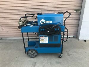 Miller Dynasty 300dx Tig Stick Welder With Cool mate 3 Cooler