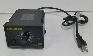 Genuine Hakko 936 Soldering Station Base Only tested free Shipping 7