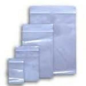 3x5 To 24x24 Clear Hd Seal Top Ziplock Reclosable Poly 6 Mil Bags 6mil Zip lock