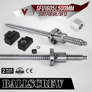 Anti backlashed Ballscrew Sfu1605 500 Rm1605 Automation Ball Nut Anti Backlash