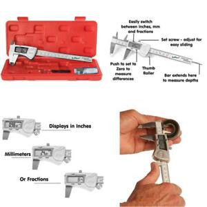 Electronic Stainless Steel Ip54 Water Proof Digital Caliper Measuring Tool 6inch