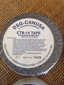 Canusa Ctb 15 All Weather Self Fusing Tape Aka Magic Tape Qty 8 1 5x15 Rolls