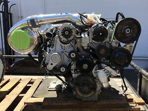 6 6 Duramax Engine Built By Ppe 55 42 Compound Twin Turbo Allison Transmission
