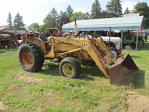 International 2424 1964 1967 Tractor With 2000 Lb Loader 2047