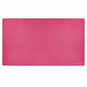 24 x14 Leather Desk Pad Executive Blotter And Protective Mat Mouse Pad Pink