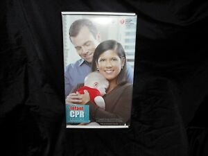 American Heart Association Infant Cpr Doll Anytime Kit Dvd Mannequin Manikin