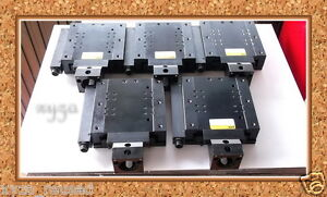 Parker 081 5889 Actuator Lot 5 Units Of Linear 3 Travel Stage Weight 18kg D m