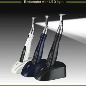 Cordless Endo Motor With Led Light 16 1 Contra Angle Reciprocating Endo Files
