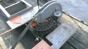 Diacro 18 Turret Punch 18 Sets Punch And Dies Cleaned Heavy Duty On Stand