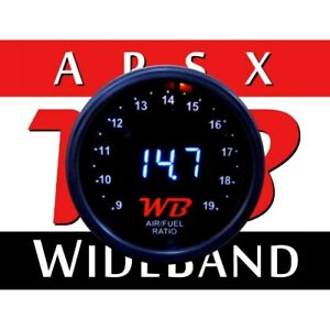 Wb D2 Wideband O2 Air Fuel Ratio Controller Gauge Black White No Sensor