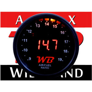Wb D2 Wideband O2 Air Fuel Ratio Controller Gauge Black Red No Sensor