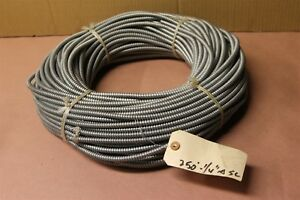 Flexible Loom 1 4 X 250ft Stainless Steel Flexible Conduit Roll