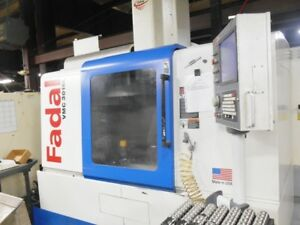 Fadal 2005 Vmc3016l 4 axis Vertical Machining Center Extra Height And Rotary