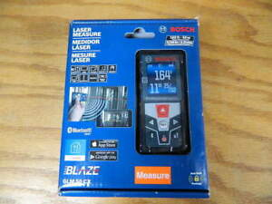 Bosch Glm 50 Cx 165 Ft Laser Measure With Bluetooth And Full Color Display