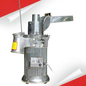 Df 20 Automatic Continuous Hammer Mill Herb Grinder Pulverizer 220v 110v