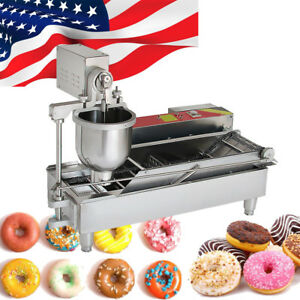 Commercial Auto Donut Maker Making Machine Stainless Steel 3 Optional Mold Party