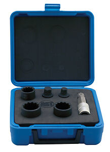 Assenmacher 6506 6 Piece Vw Audi Axle Nut Socket Set