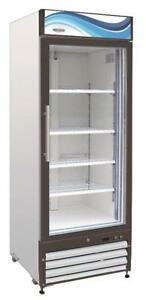 Servware Gf 23 Glass Door Freezer Merchandiser Brand New 23 Cubit Feet