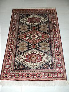 5x6ft Beautiful Russian Shirvan Wool Rug