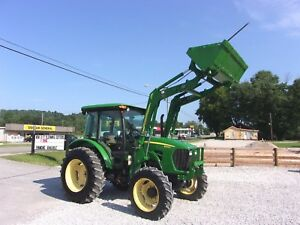 John Deere 5083e Tractor Cab With Jd 553 Loader 4x4