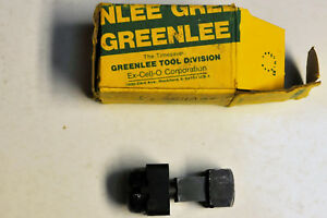 Greenlee 1 2 Square Radio Chassis Punch No 500 5248