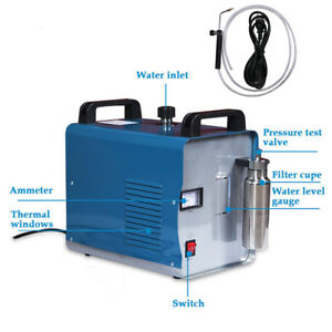 H180 95l Portable Oxygen Hydrogen Water Welder Flame Polishing Machine W Blade