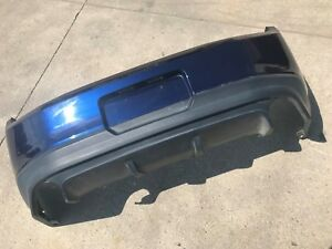 2011 2012 Ford Mustang Gt Boss 302 Rear Bumper Cover Blue Oem
