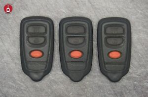 Oem Lot Of 3 Honda Remote Entry 3 button Fob Clicker Tested Transmitter Hyq1512r