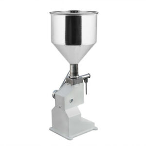Manual Liquid Filling Packing Machine 5 50ml For Cream Shampoo Cosmetic