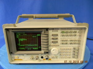 Agilent 8595e Spectrum Analyzer With Options 041 105 140 151 163