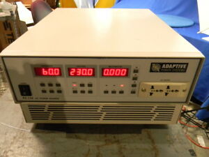 Adaptive Power Systems Fc110 Ac Source