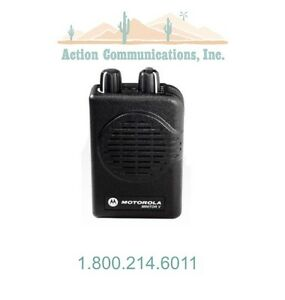 New Motorola Minitor V Uhf 450 458 Mhz 1 Frequency Stored Voice Pager