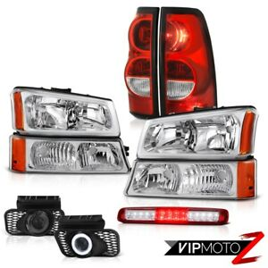 03 06 Chevy Silverado Parking Lamp Red Roof Cab Taillights Headlamps Foglights