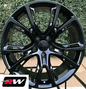 Jeep Grand Cherokee Srt8 Oe Replica Wheels 20 Inch Gloss Black Staggered Rims