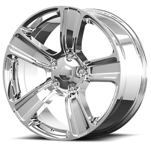 20 Rw Wheels For Dodge Ram 1500 20x9 Chrome 2013 2017 Ram 1500 Style Rims