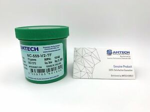Amtech Nc 559 v2 tf No clean Standard Tacky Solder Flux With Uv tracer 75g Jar