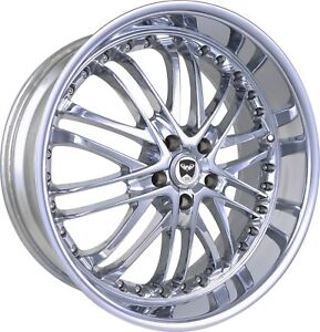4 Gwg Wheels 18 Inch Chrome Amaya Rims Fits Chevy Malibu Lt 2015