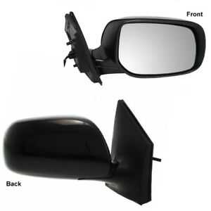 New Passenger Side Power Mirror For 2009 2013 Toyota Corolla To1321249