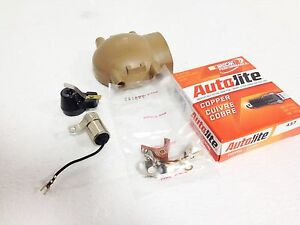 Ford 8n 2n 9n Ignitiontune Up Kit Points Plug Cap Front Mount Distributor