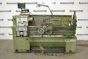 Victor 1640b 16 X 40 Gap Bed Precision High Speed Engine Lathe W Mitutoyo Dro