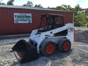 2001 Bobcat 763g Skid Steer Loader