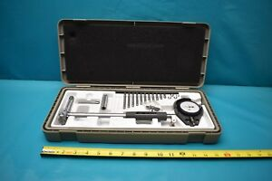 Used Mitutoyo 57 016 523 Bore Gage Set With Case
