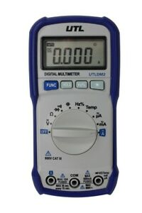 Utldm2 By Uei 6000 Count Autoranging Multimeter With Temperature New