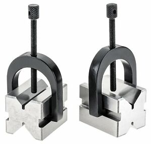 2 Sets Precision v Block Set 1 3 8 X 1 1 2 X 1 3 4 With Free Shipping