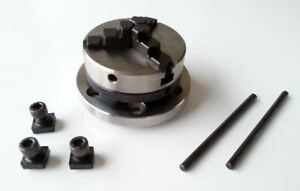 65 Mm Mini Lathe Scroll Chuck 3 Jaw With Backplate For 3 And 4 Inch Rotary Table