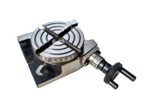 Rotary Table 3 75 Mm Horizontal Vertical 4 Slots