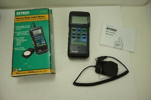 Extech Instruments Fc lux Heavy Duty Light Meter 407026 new Opened Box