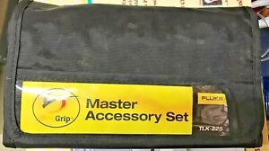 Brand New Fluke Tlk 225 Master Accessory Test Lead Set With Storage Case