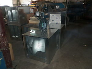 3000 Cfm Restaurant Make Up Air Blower