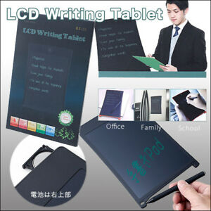 Lcd Writing Tablet 12 Inch electric Paper paperless pad memo office school new